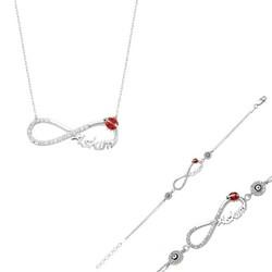 Tekbir Silver - Gümüş Sonsuzluk Aşkım Set