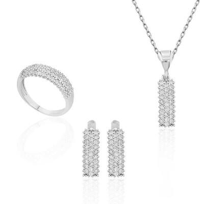 Tekbir Silver - Gümüş Su Yolu Bayan Set