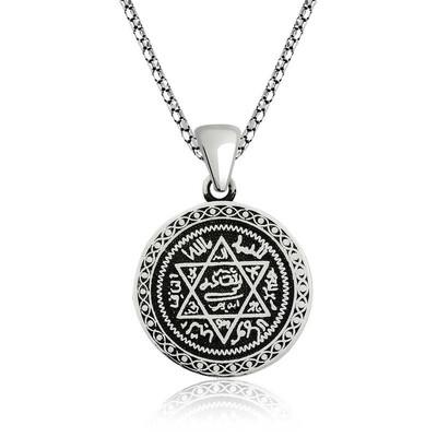 Gumush - Gümüş Süleyman Mührü Kolye