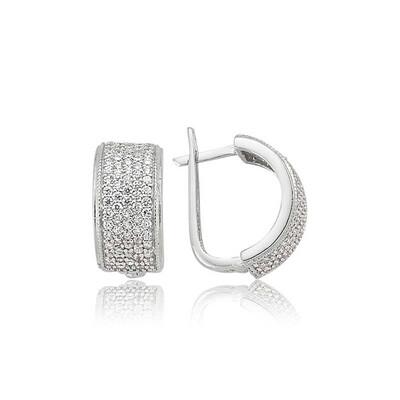 Tekbir Silver - Gümüş Tamtur Küpe