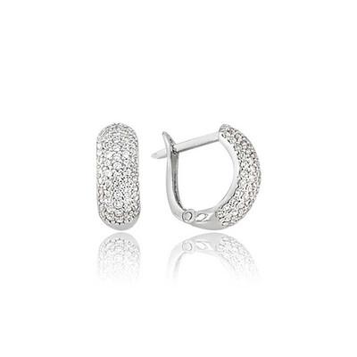 Tekbir Silver - Gümüş Tamtur Küpe (1)