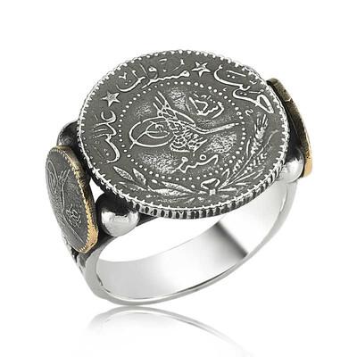 Tekbir Silver - Gümüş Tuğralı Erkek Yüzük