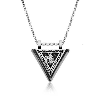 Tekbir Silver - Gümüş Tuğralı Muskalık Kolye