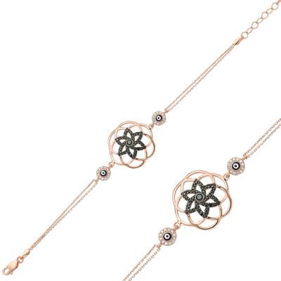 Tekbir Silver - Gümüş Yaşam Çiçeği Bayan Bileklik