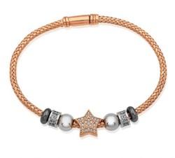 Tekbir Silver - Gümüş Yıldız Bayan Bileklik