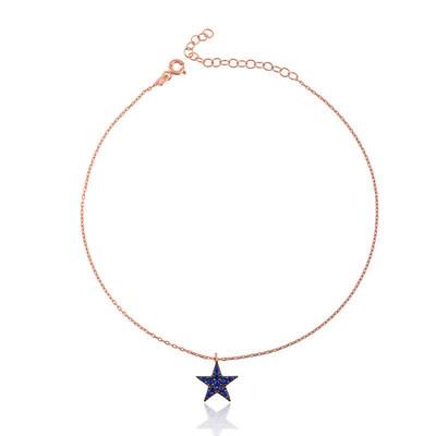Tekbir Silver - Gümüş Yıldız Bayan Halhal