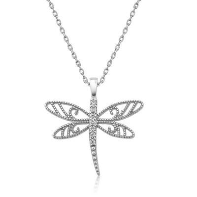 Tekbir Silver - Gümüş Yusufçuk Bayan Kolye