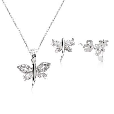 Tekbir Silver - Gümüş Yusufçuk Bayan Set