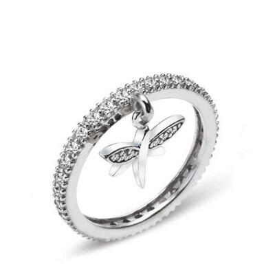 Tekbir Silver - Gümüş Yusufçuk Tamtur Bayan Yüzük